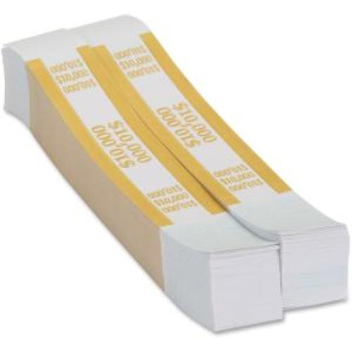 Coin-Tainer $10000 Currency Band, Mustard, 1000 count 410000