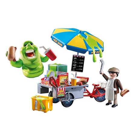 PLAYMOBIL Ghostbusters Slimer with Hot Dog Stand](Ghostbusters Cupcakes)