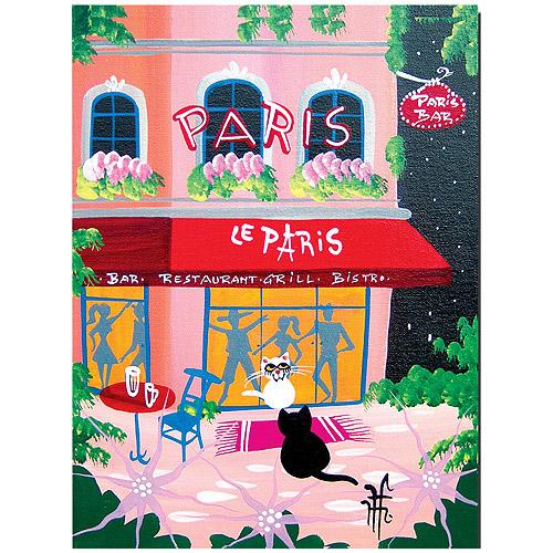 "Trademark Art ""Le Paris"" by Herbert Hofer"