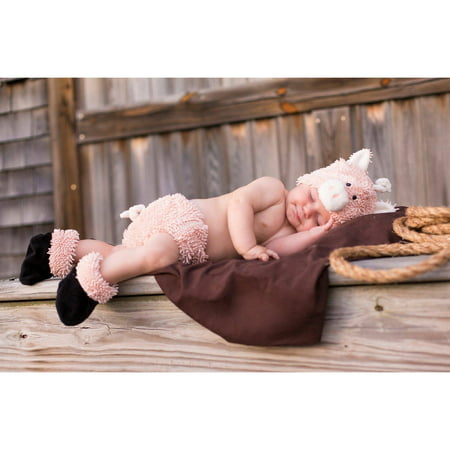 cuddly piglet infant diaper cover set infant halloween costume 0 6 months