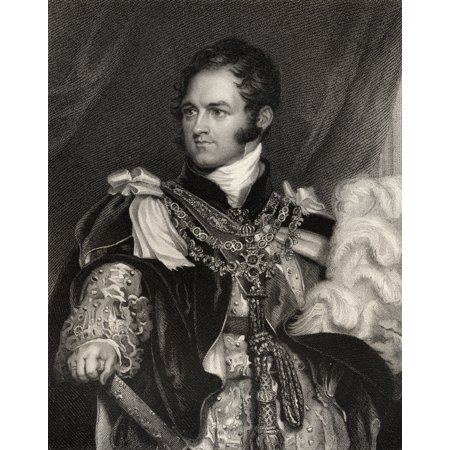 Leopold Georges Chretien Frederic Of Saxe-Coburg 1790 To 1865 King Of The Belgians 1831 To 1865 Uncle Of Queen Victoria Engraved By J Thomson After Sir T Lawrence From The Book National Portrait Galle