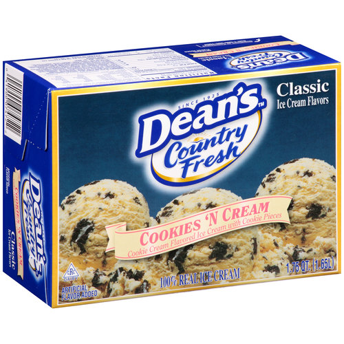 Deans Country Fresh Cookies N Cream Sq