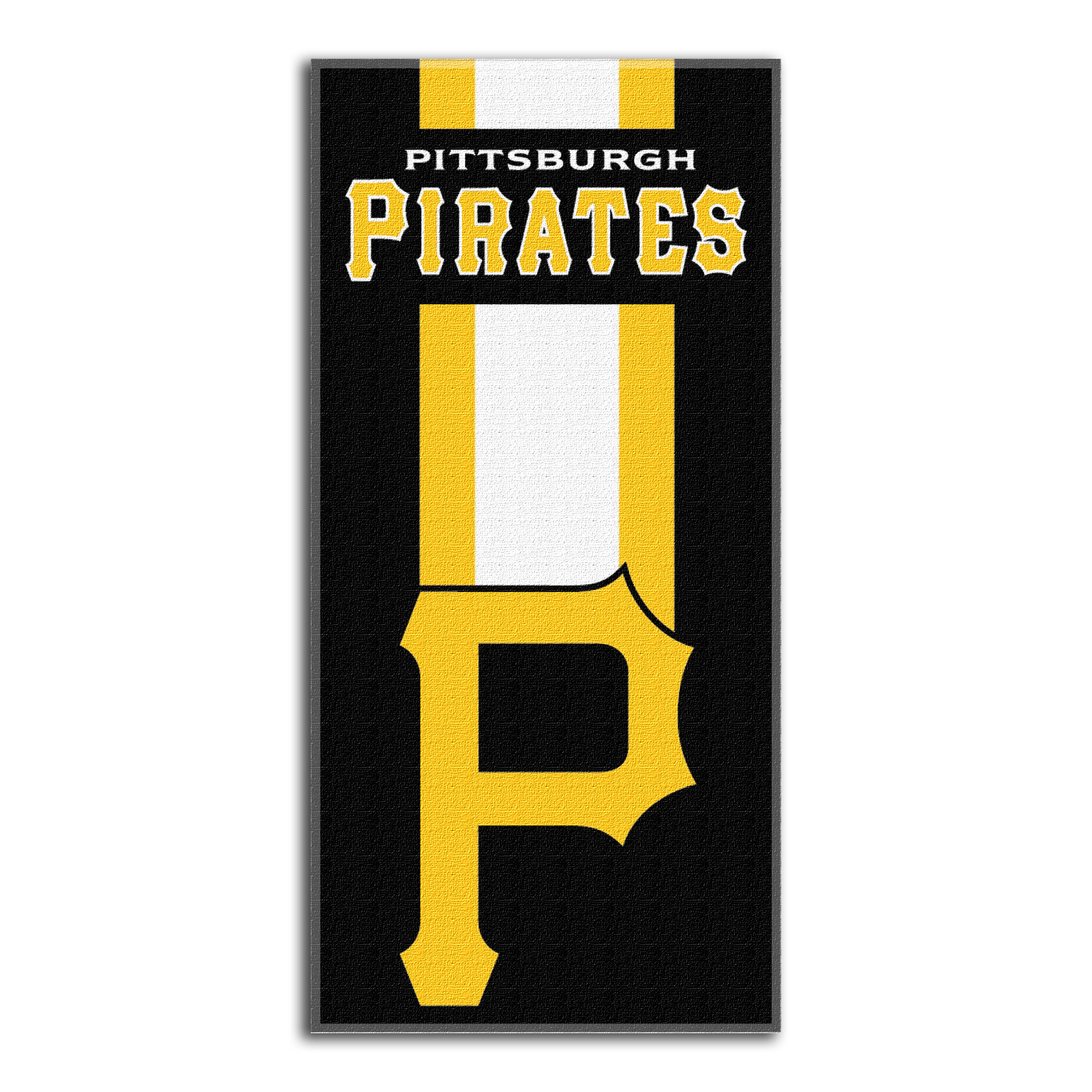 Pittsburgh Pirates The Northwest Company Zone Read Beach Towel - No Size