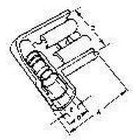 Terminals QK DISCONNECT FEMALE 14-16 AWG Insulkrimp (10 pieces)
