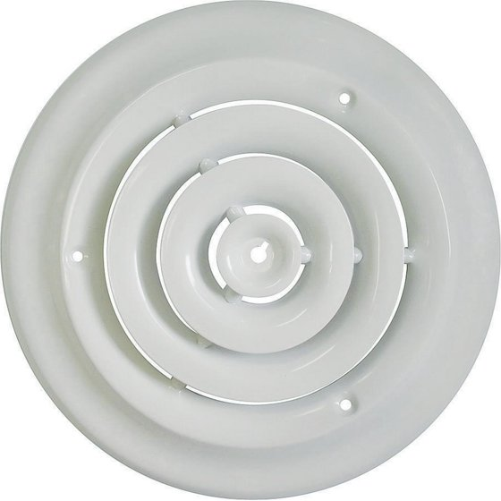 Mintcraft Srsd06 6 In Ceiling Diffuser Round White