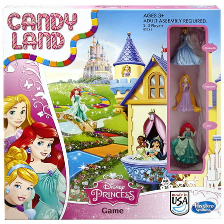 Candy Land Disney Princess Edition - Disney Channel Halloween Games