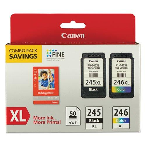 Canon Usa Canon Pg-245xl/cl-246xl/gp-502 Paper Combo Pack - For Pixma Mg2420 - 8278b005aa