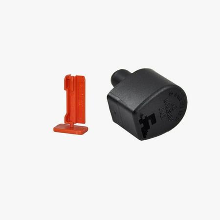 Mercedes-Benz Transmission Dipstick Filler Cap + Lock Pin Genuine OE (Transmission Oil Dipstick)