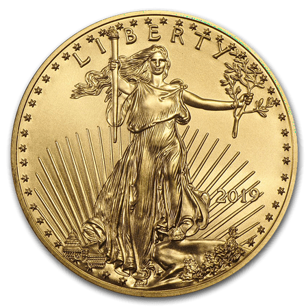 2019 1 oz Gold American Eagle Coin BU 1933 Double Eagle Gold Coin