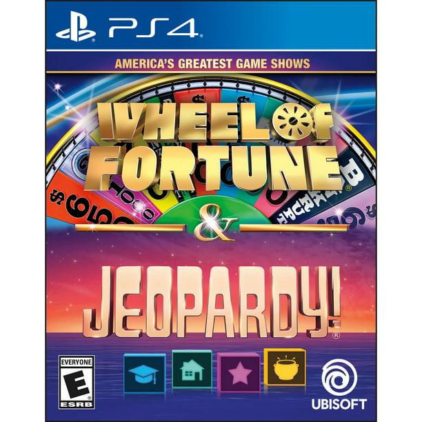 Jeopardy Wheel Of Fortune Compilation Ubisoft Playstation 4 887256032067 Walmart Com Walmart Com