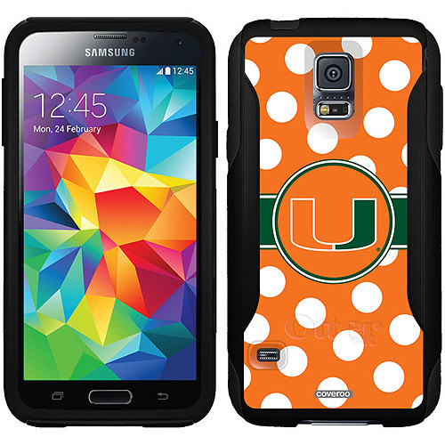 Miami Polka Dots Design on OtterBox Commuter Series Case for Samsung Galaxy S5