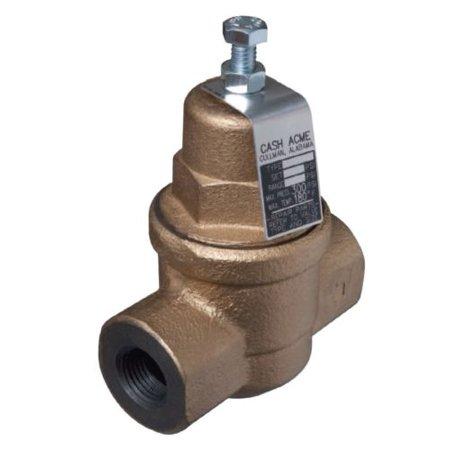 cash acme 23000 0045 eb75 3 4 water pressure reducing regulator valve. Black Bedroom Furniture Sets. Home Design Ideas