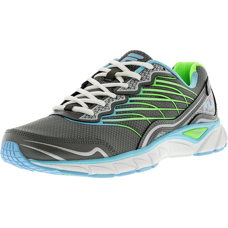 Fila Fila Women's Memory Countdown 3 Dark Silver Metallic Bluefish Ankle High Running Shoe 10M