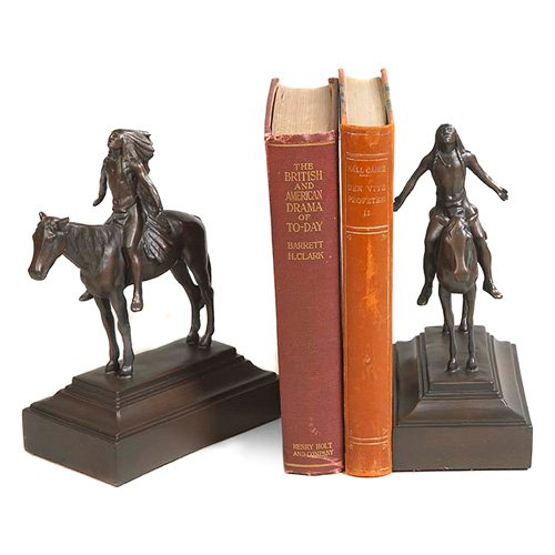 Appeal Great Spirit Bookends by OK Casting LLC
