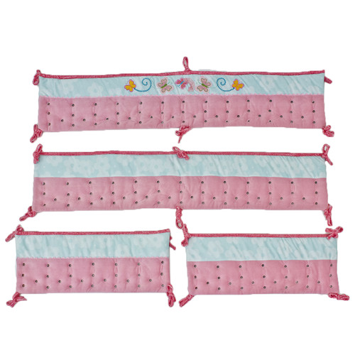 Nurture Imagination Butterfly Wings Crib Safety Bumper
