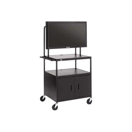 Bretford Manufacturing Inc Cab AV Cart with Laptop Shelf for Flat Panels