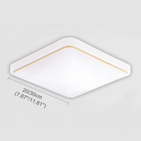 12/18W Modern LED Square Ceiling Down Light Flush Mount Light Home Bedroom Kitchen Lamp Mounted Home Fixture Lamp - image 4 of 7