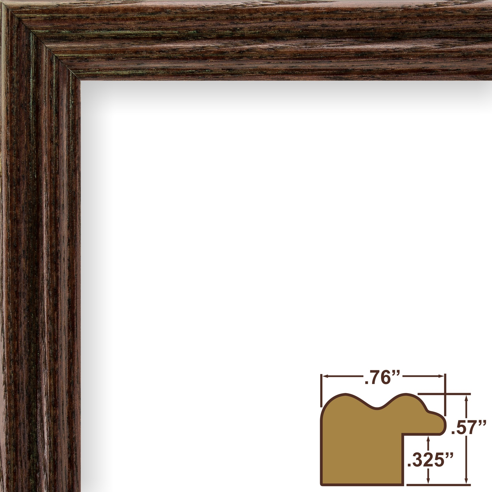 Craig Frames Wiltshire 200 Traditional Red Hardwood Picture Frame