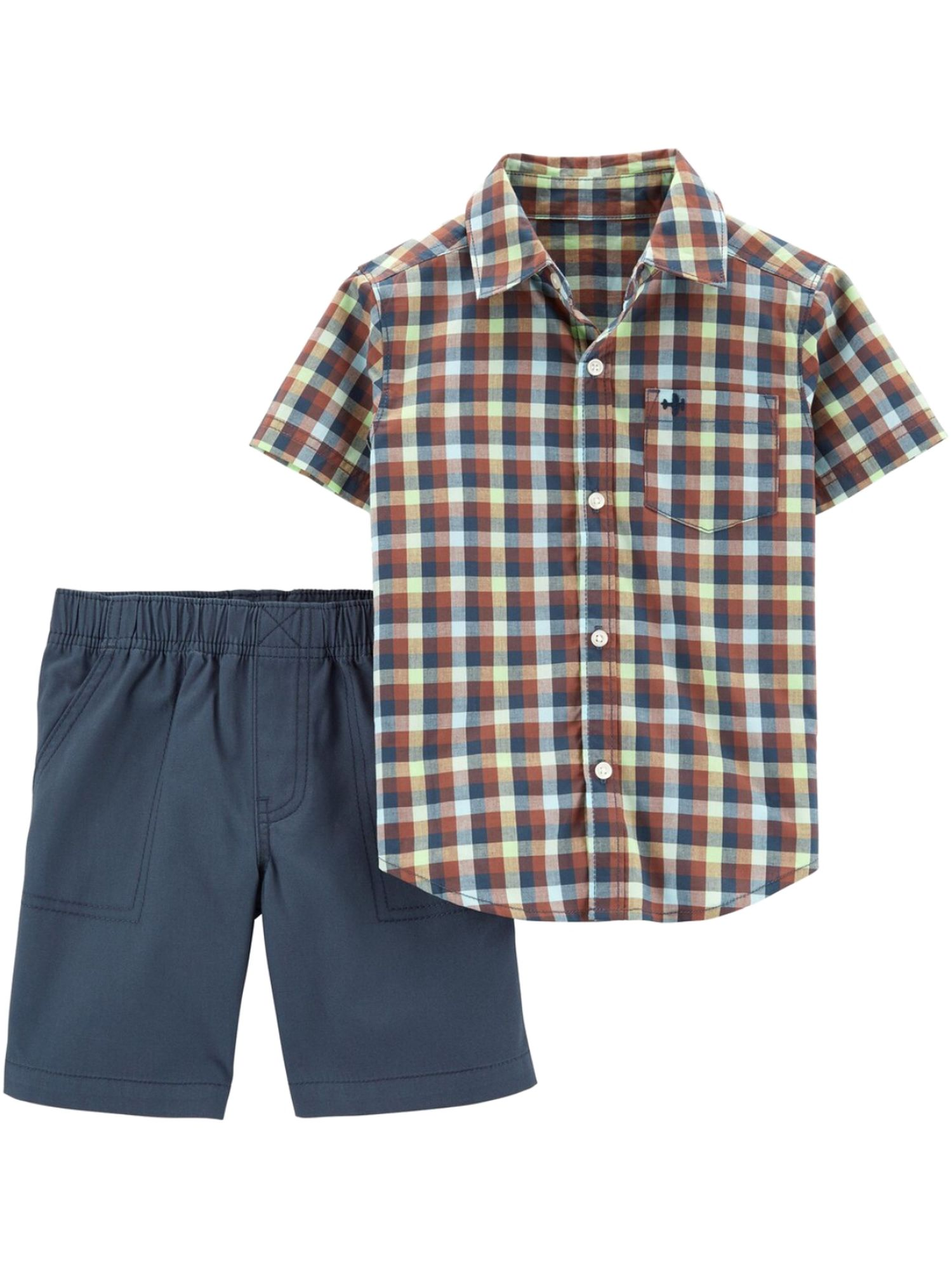 Baby Kenneth cole shorts polo shirt set 24 MO months boys NEW