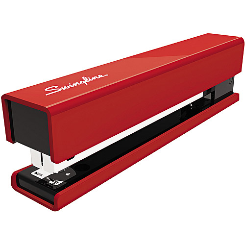 Swingline Full Strip Fashion Stapler, Red / Black