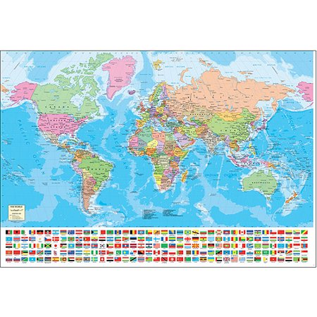 Educa world map jigsaw puzzle 1500 piec walmart educa world map jigsaw puzzle 1500 piec gumiabroncs
