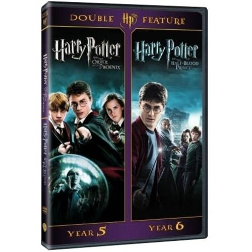 Harry Potter Double Feature: Years 5 And 6 - The Order Of The Phoenix / The Half-Blood Prince (DVD + Digital HD) (With INSTAWATCH) (Walmart Exclusive))