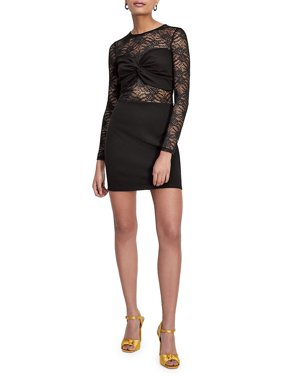 f5e07f7ae478a Product Image Knotted Lace Bodycon Dress. Product TitleMiss SelfridgeKnotted  ...