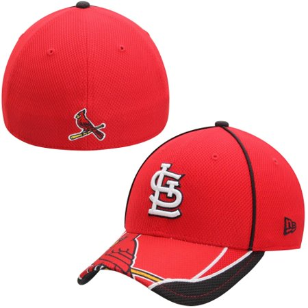 St. Louis Cardinals New Era MLB Team Illusion 39THIRTY Flex Hat - Red Navy  Blue - Walmart.com 02bd5ce43c2