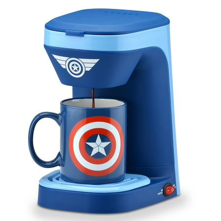 Marvel Captain America 1-Cup Coffee Maker ()
