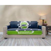 Dallas Cowboys 75'' x 110'' 3D Sofa Protector - Blue - No Size