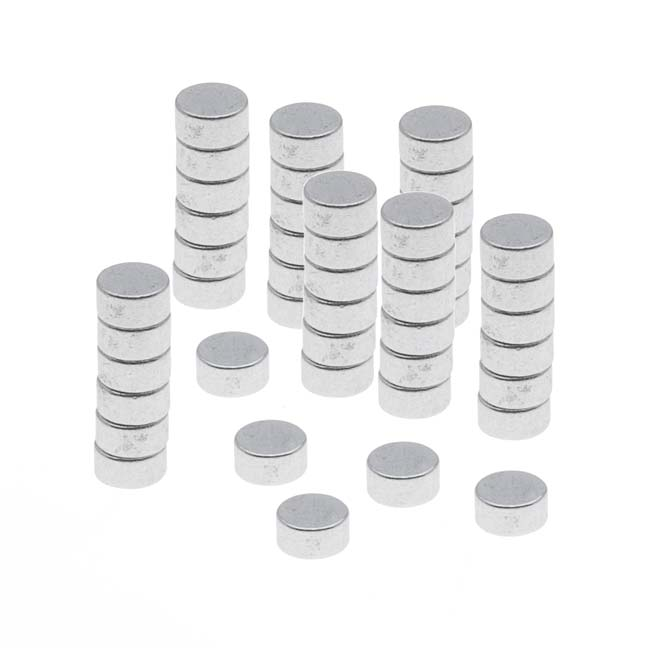 """Neodymium Rare Earth Super Magnets, For Hobby Crafts 3x1.5mm (1/8x1/16"""") N35 Strength, 50 Pieces"""