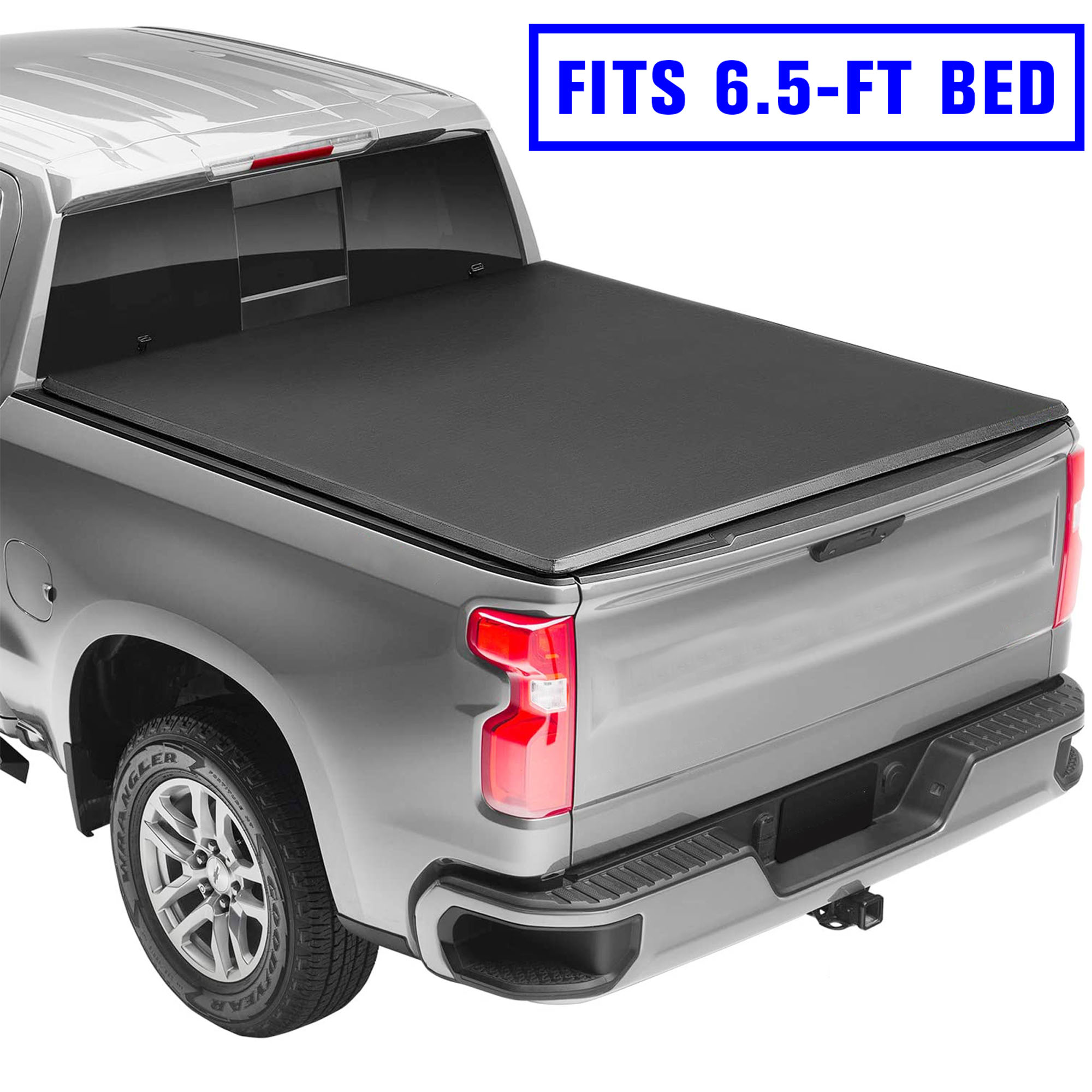 Roll Up Truck Bed Tonneau Cover Soft Tri Fold Tonneau Cover For 2002 2018 Dodge Ram Walmart Com Walmart Com