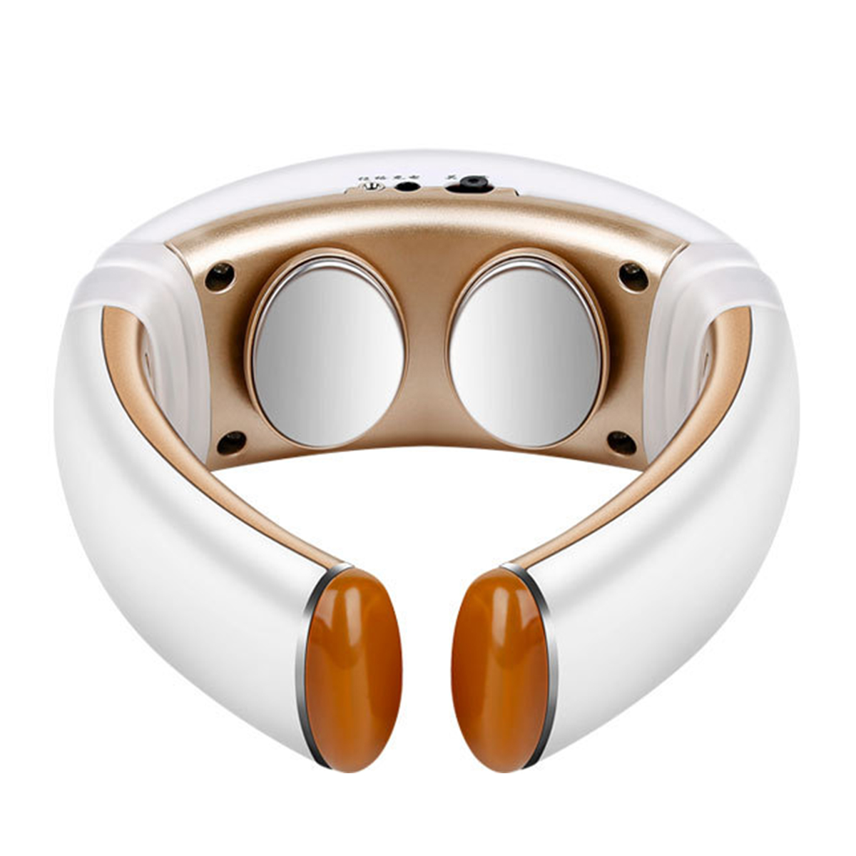 3D Smart Neck Massager Heating Pain Relief Treatment Acupuncture Electric Pulse