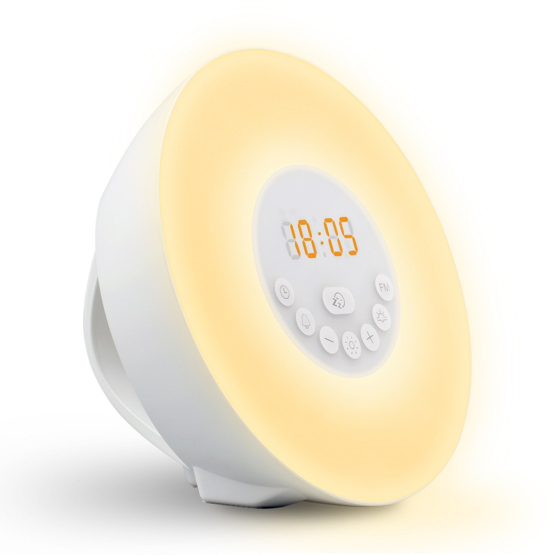 Wake Up Light_ Seetru Colored Sunrise Simulation Alarm Cl...