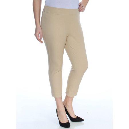 Ralph Lauren Petite Pants (Ralph Lauren Womens Beige Skinny Pants Petites  Size:)