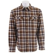 Planet Earth Linier Flannel Shirt Browns