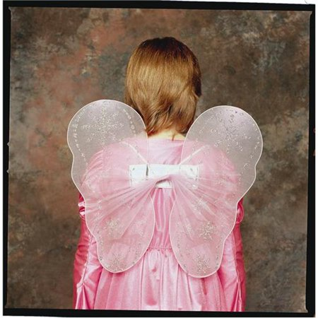 Fairy Wings Costume - Pink - Size Child - Realistic Fairy Wings For Sale
