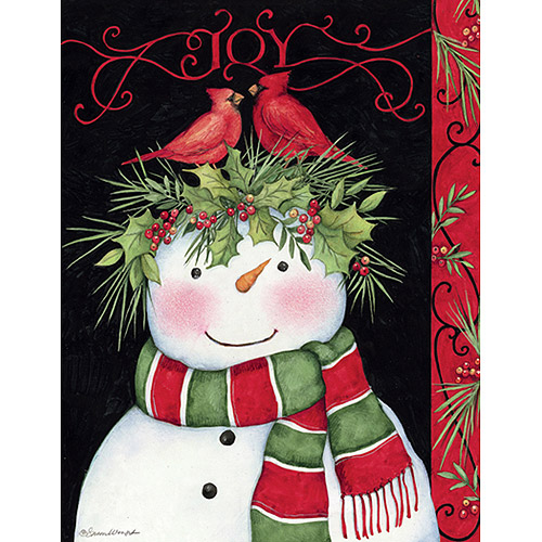 "Lang ""Snowman Joy"" Boxed Christmas Cards"