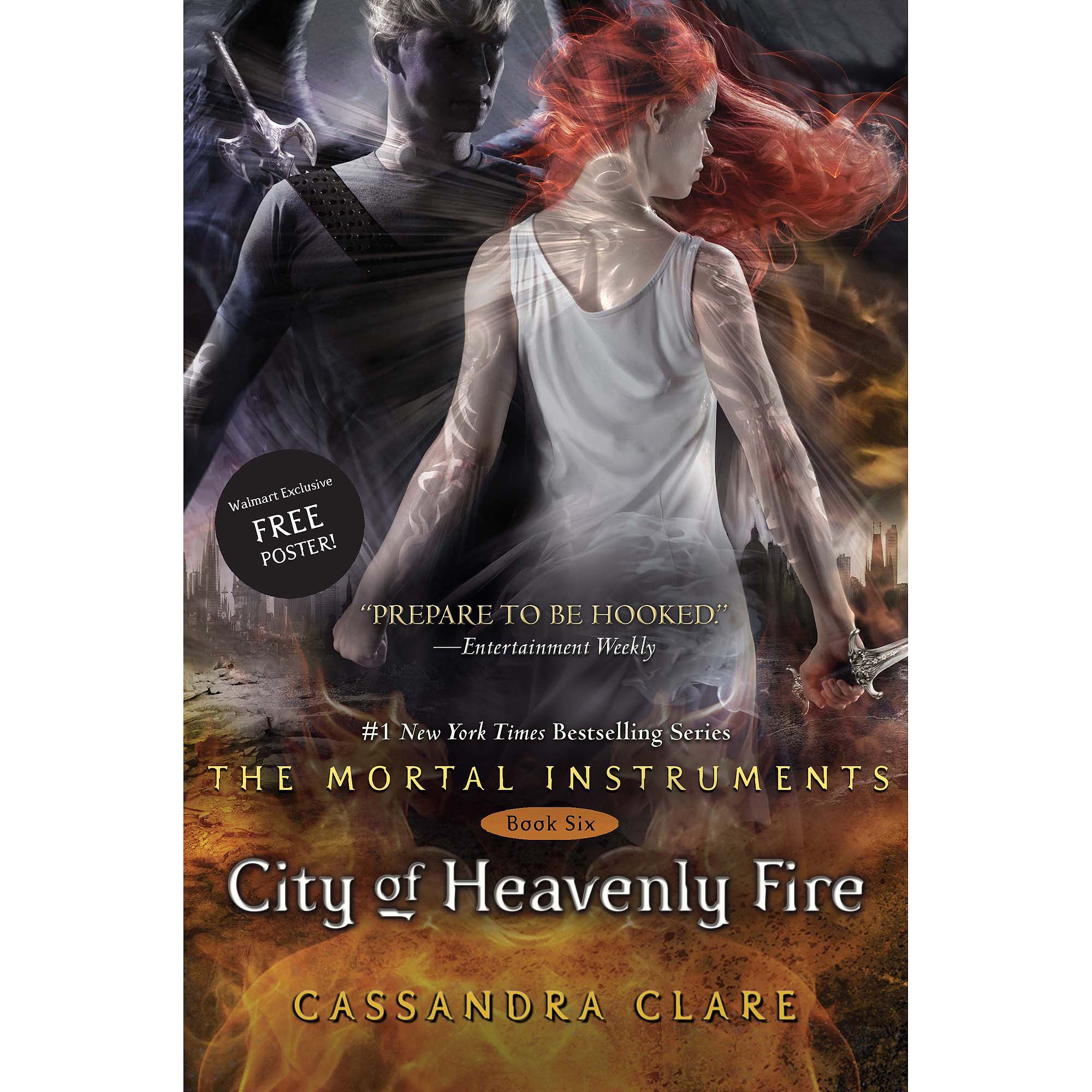City of Heavenly Fire Walmart Edition: With Poster