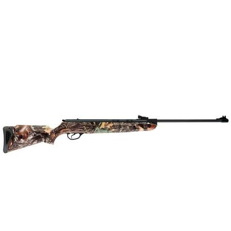 Guns 22 Caliber - Hatsan Model 85 Camo Break Barrel Airgun .22 Caliber 3-9x32 Scope Black