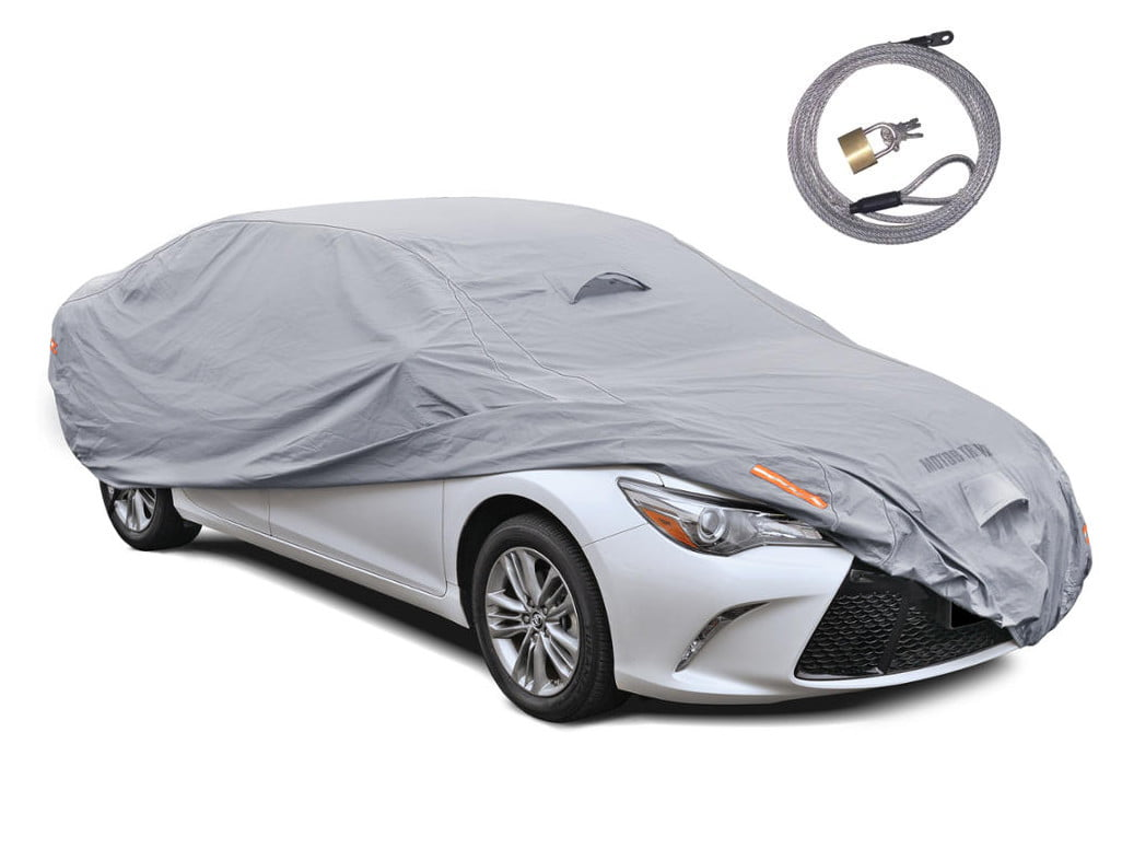 Waterproof Sun-Proof Dust-Proof Heat Separation Protector XXL Silver Coating Fully Anti-Scratch Car Protective Cover Full Car Body Cover