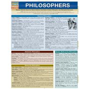 BarCharts 9781423215493 Philosophers Quickstudy Easel