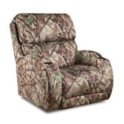 American Furniture Amerisuede Polyester Recliner - Power Recliner - Recliner Only