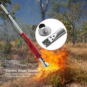 ANGGREK Electric Weed Machine,2 in 1 No chemicals Eco Friendly Electric Weed Killer Air Burner US 110V,2 in 1 Weed Burner