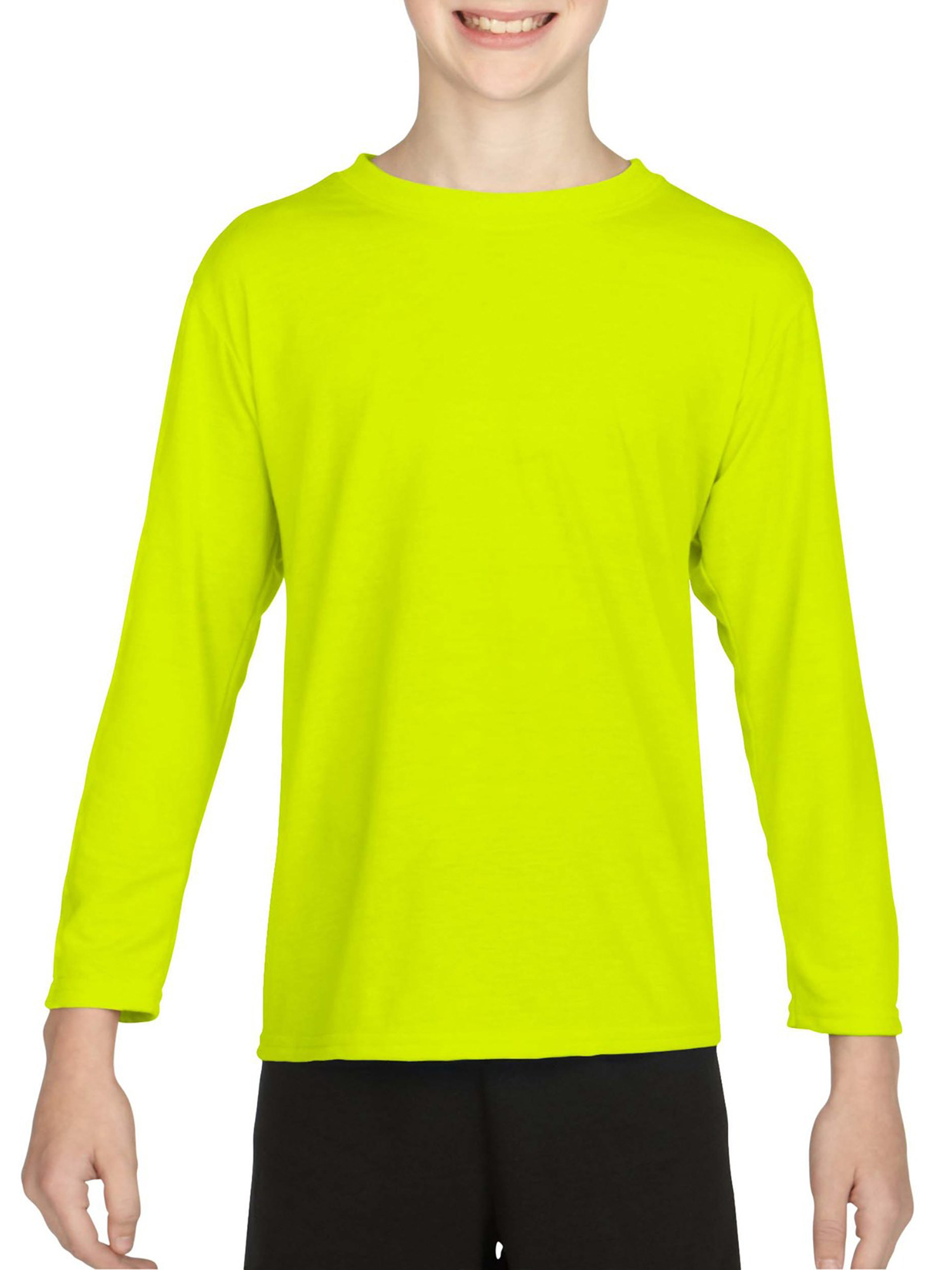 Gildan AquaFX Performance Kids Long Sleeve T-Shirt