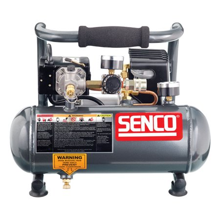Senco 1 gal. Horizontal Portable Hand-Held Air Compressor 125 psi 1/2 hp (3000 Psi Compressor)