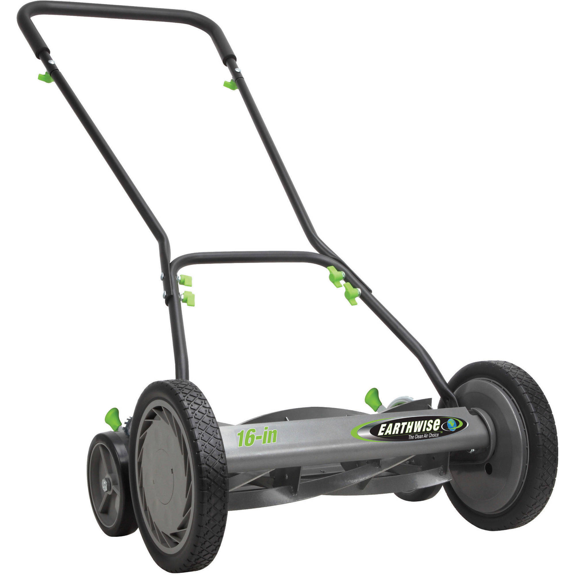 "Earthwise 18"" 5-Blade Push Reel Lawn Mower"