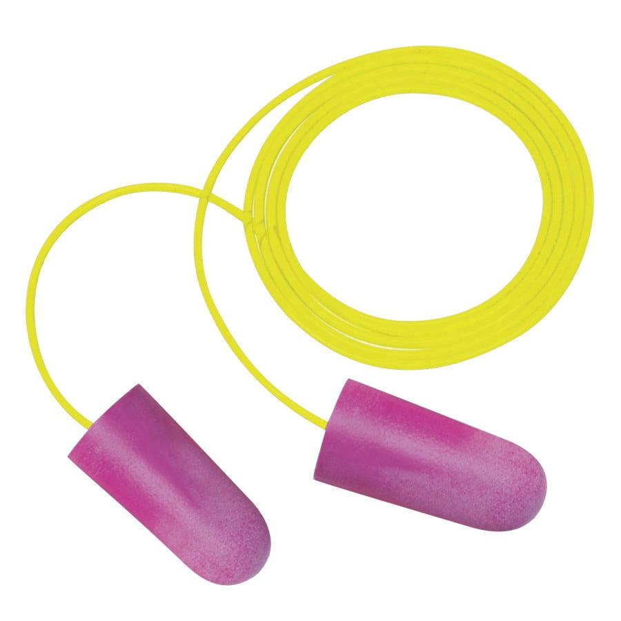 Nitro Earplugs, Corded, Orange, Red, Pink and Purple, 1,000 pr/Case