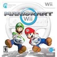 Refurbished Mario Kart Wii With Wii Wheel