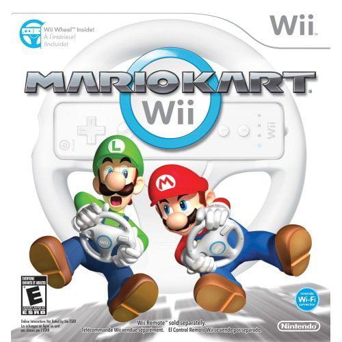Refurbished Mario Kart Wii With Wii Wheel